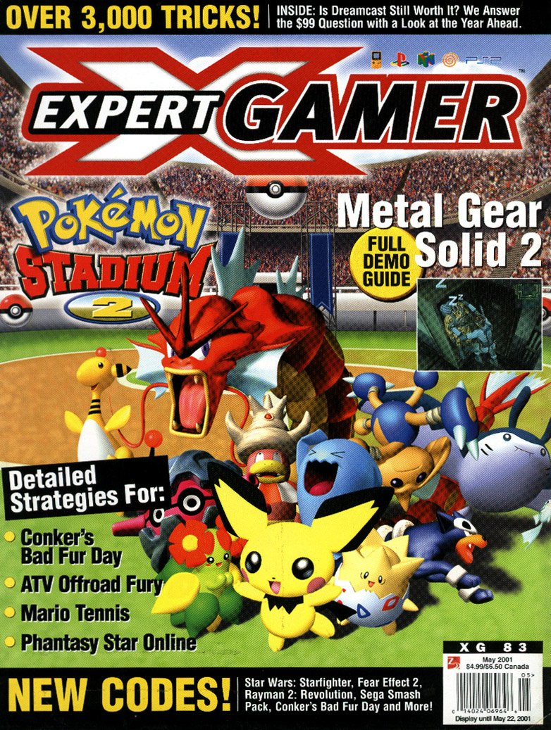 Expert Gamer Issue 83 (May 2001)