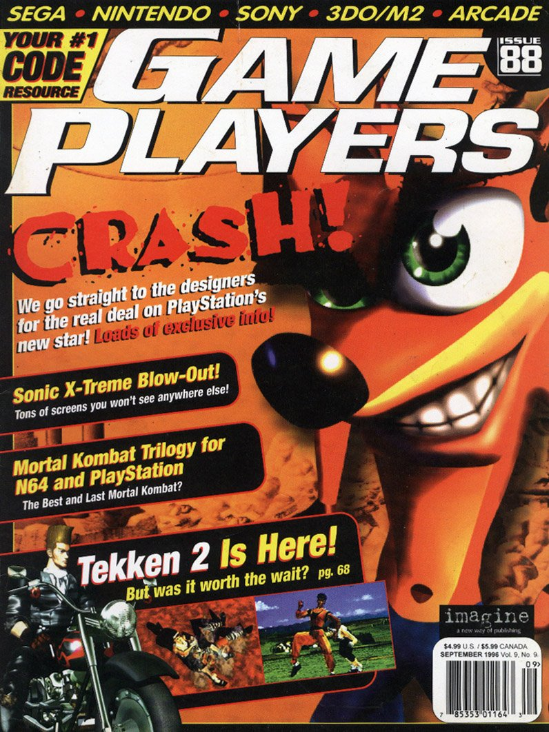 Game Players Issue 088 September 1996
