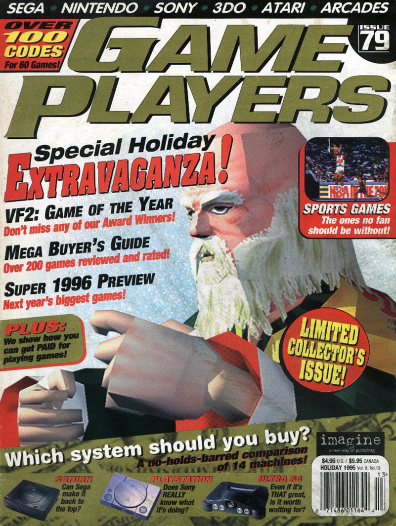 Game Players Issue 079 Holiday 1995