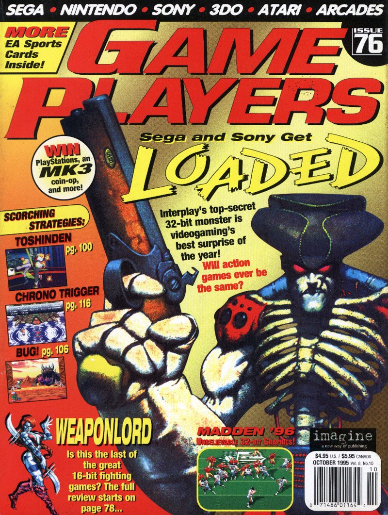 Game Players Issue 076 October 1995