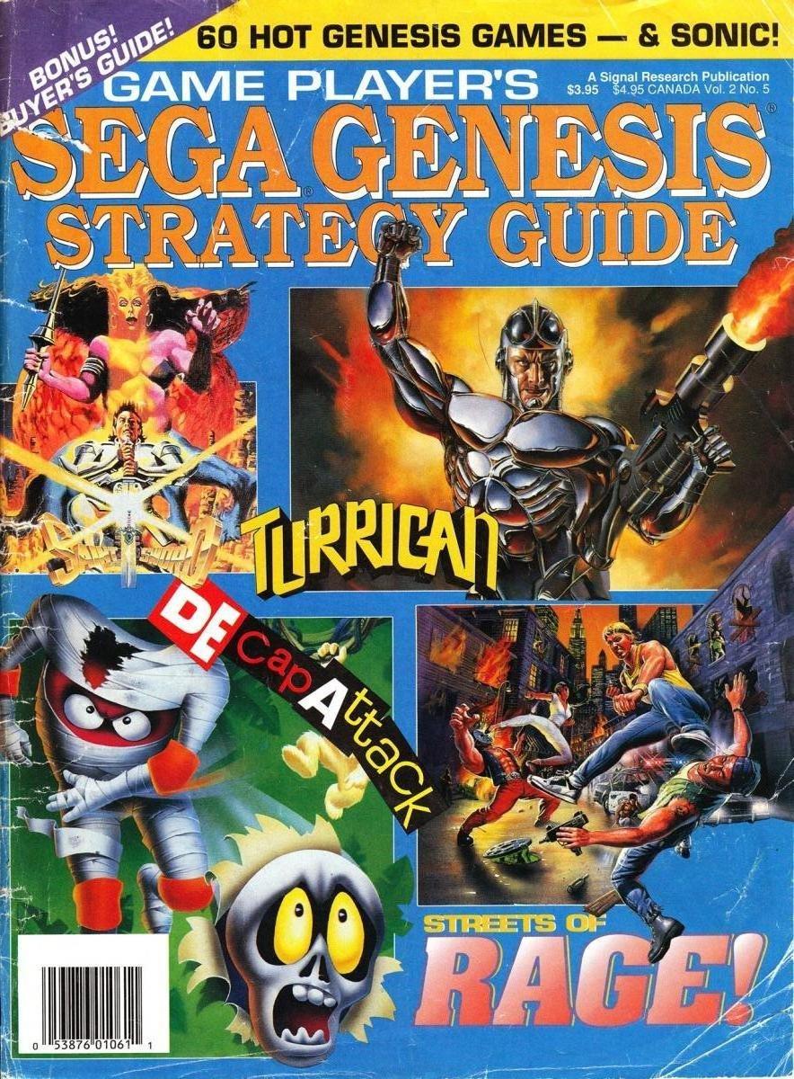 Game Player's Sega Genesis Strategy Guide Vol.2 No.5 (October-November 1991)