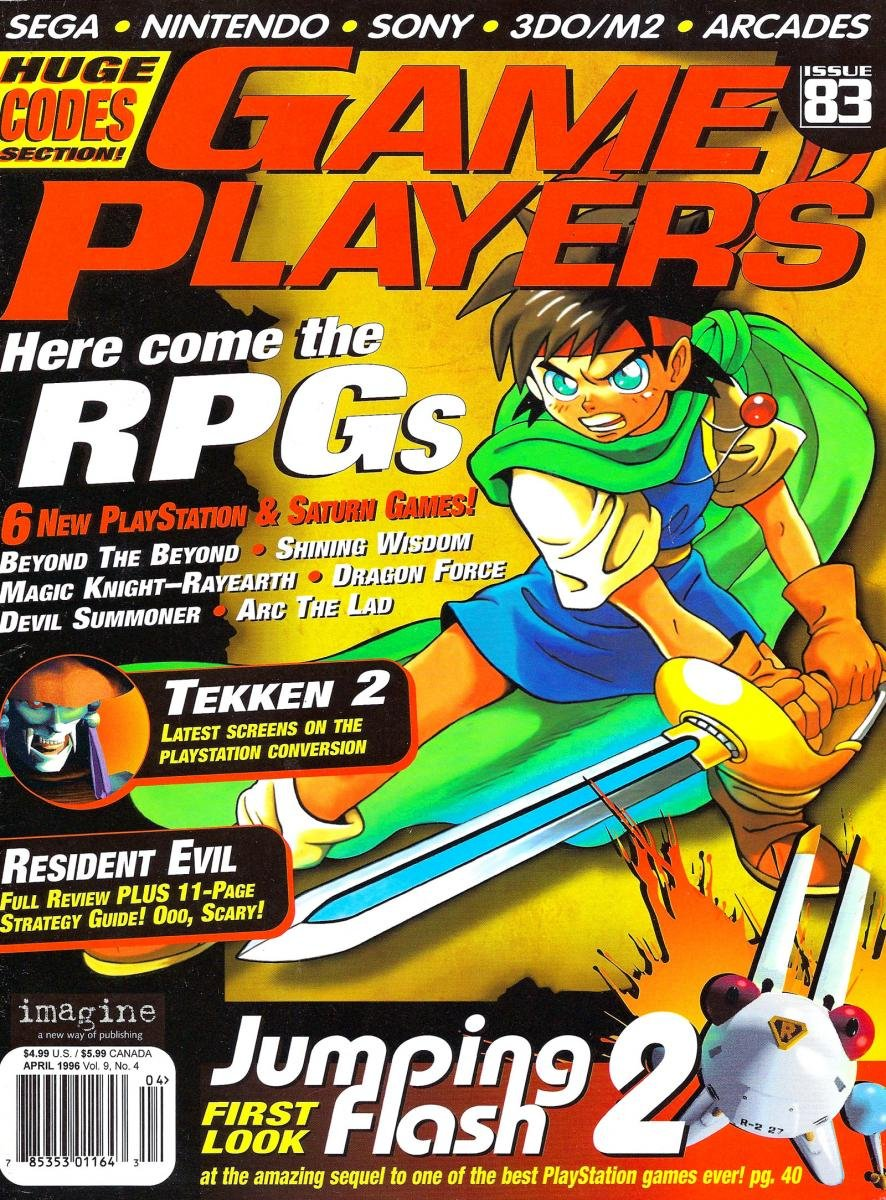 Game Players Issue 083 April 1996