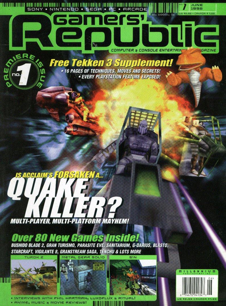 Gamers Republic Issue 001 June 1998