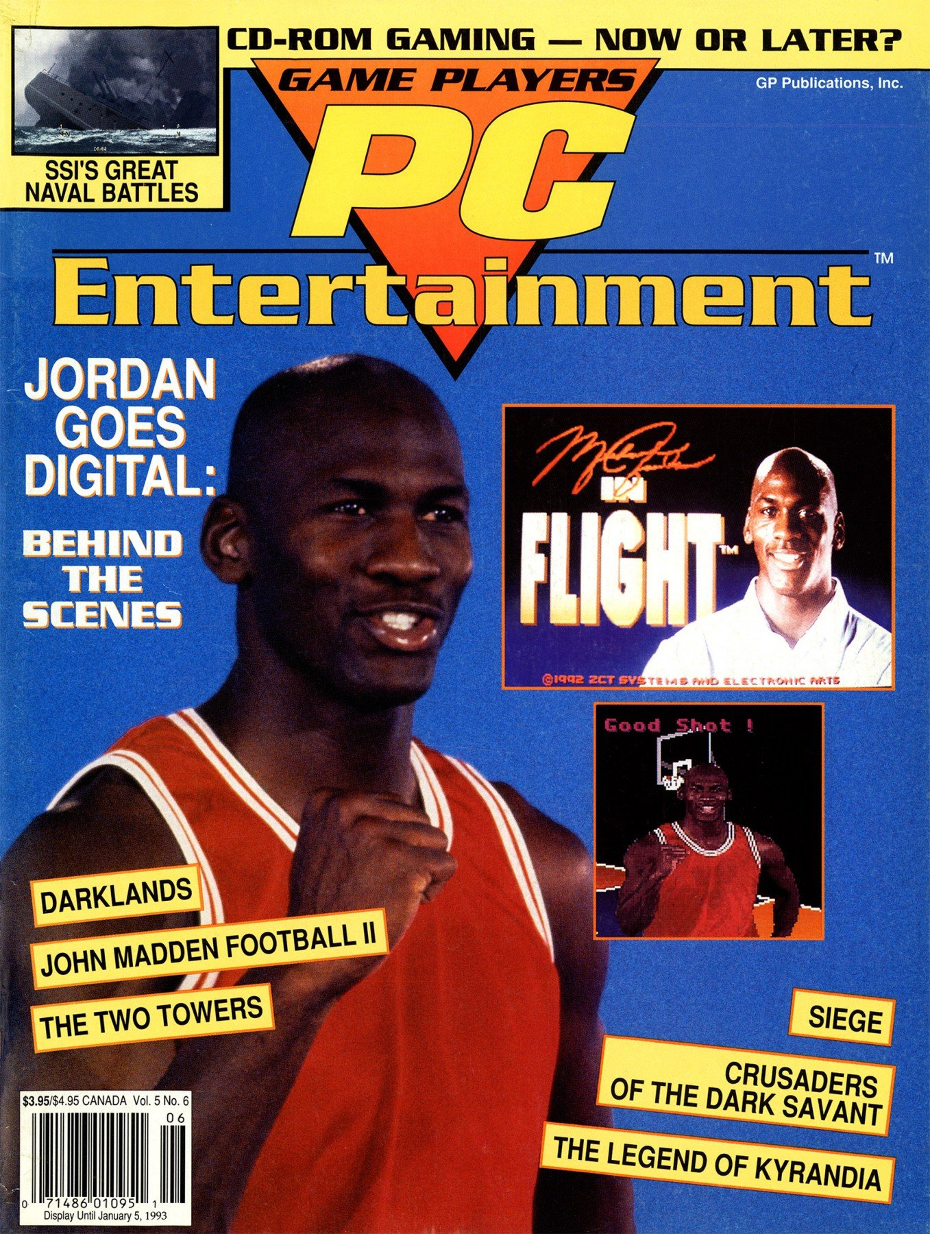 Game Players PC Entertainment Vol.5 No.6 (November/December 1992)