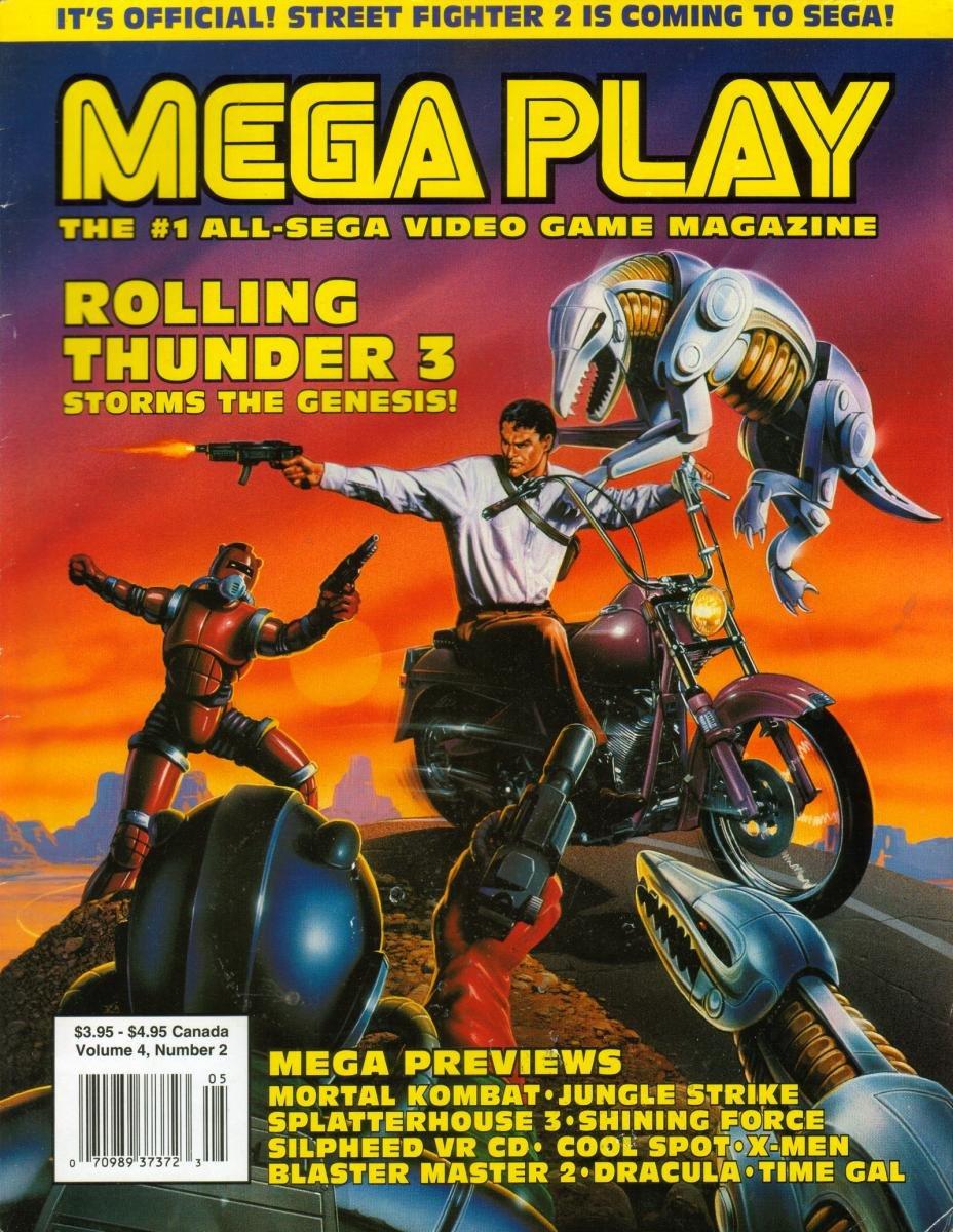 Mega Play Vol.4 No.2 April 1993