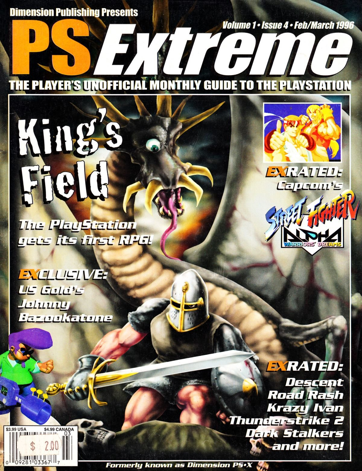 PS Extreme Issue 04 February March 1996