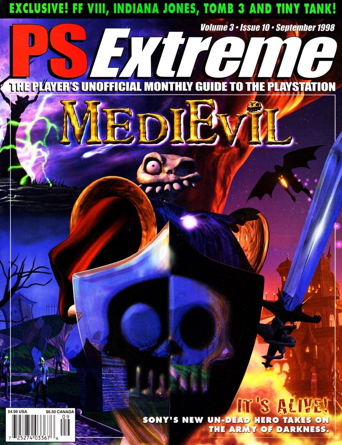 PSExtreme Issue 34 September 1998