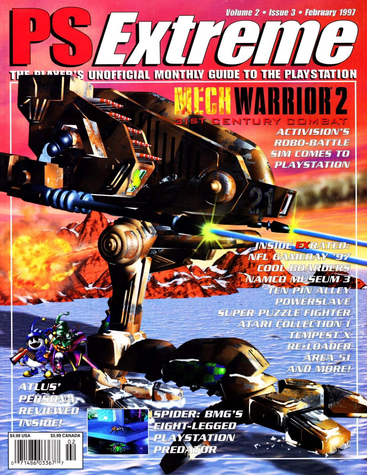 PSExtreme Issue 15 February 1997