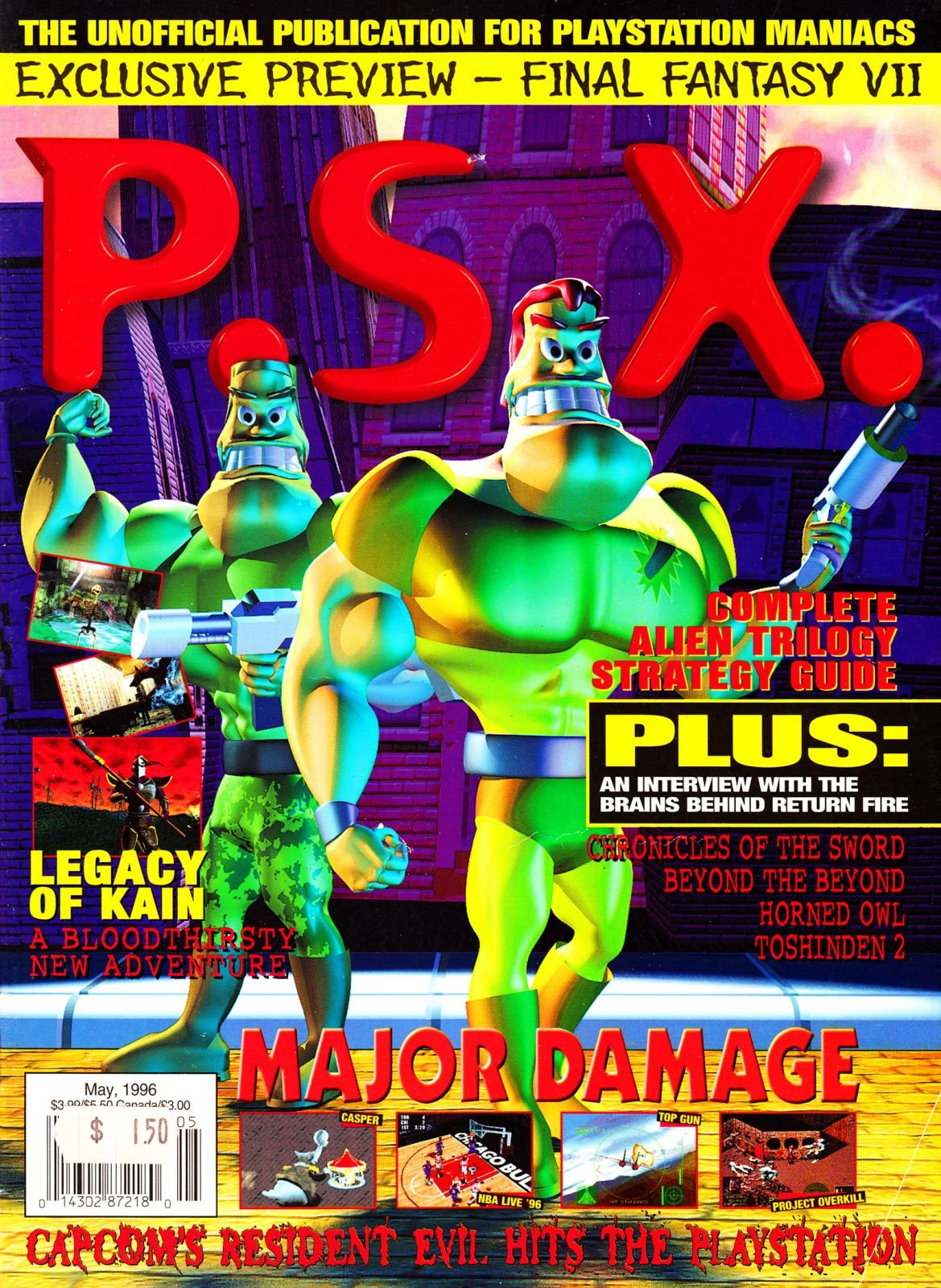 PSX May 1996