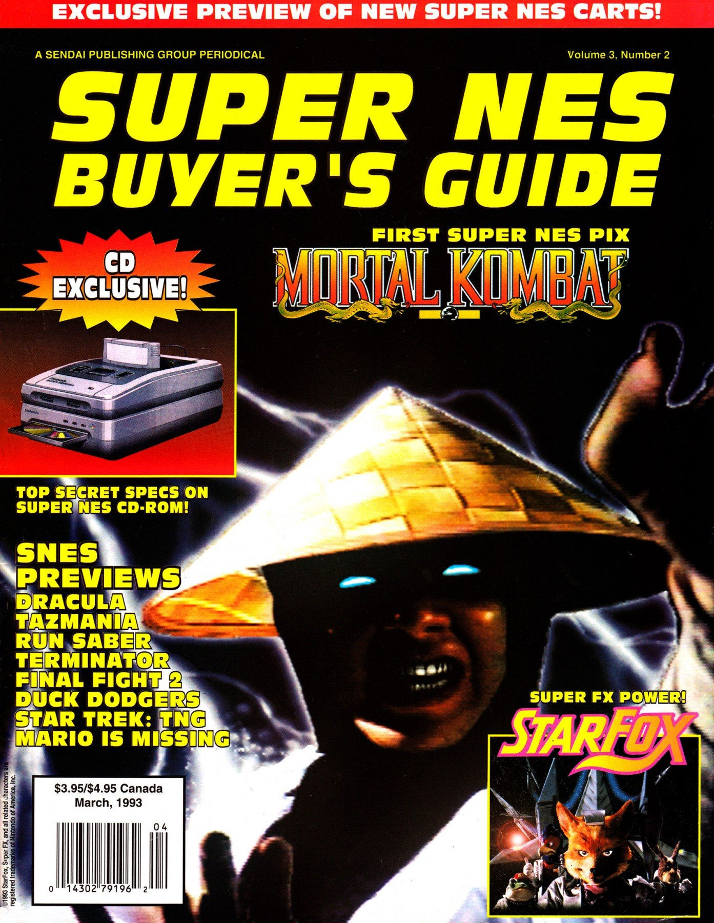 Super NES Buyer's Guide Issue 07 March 1993