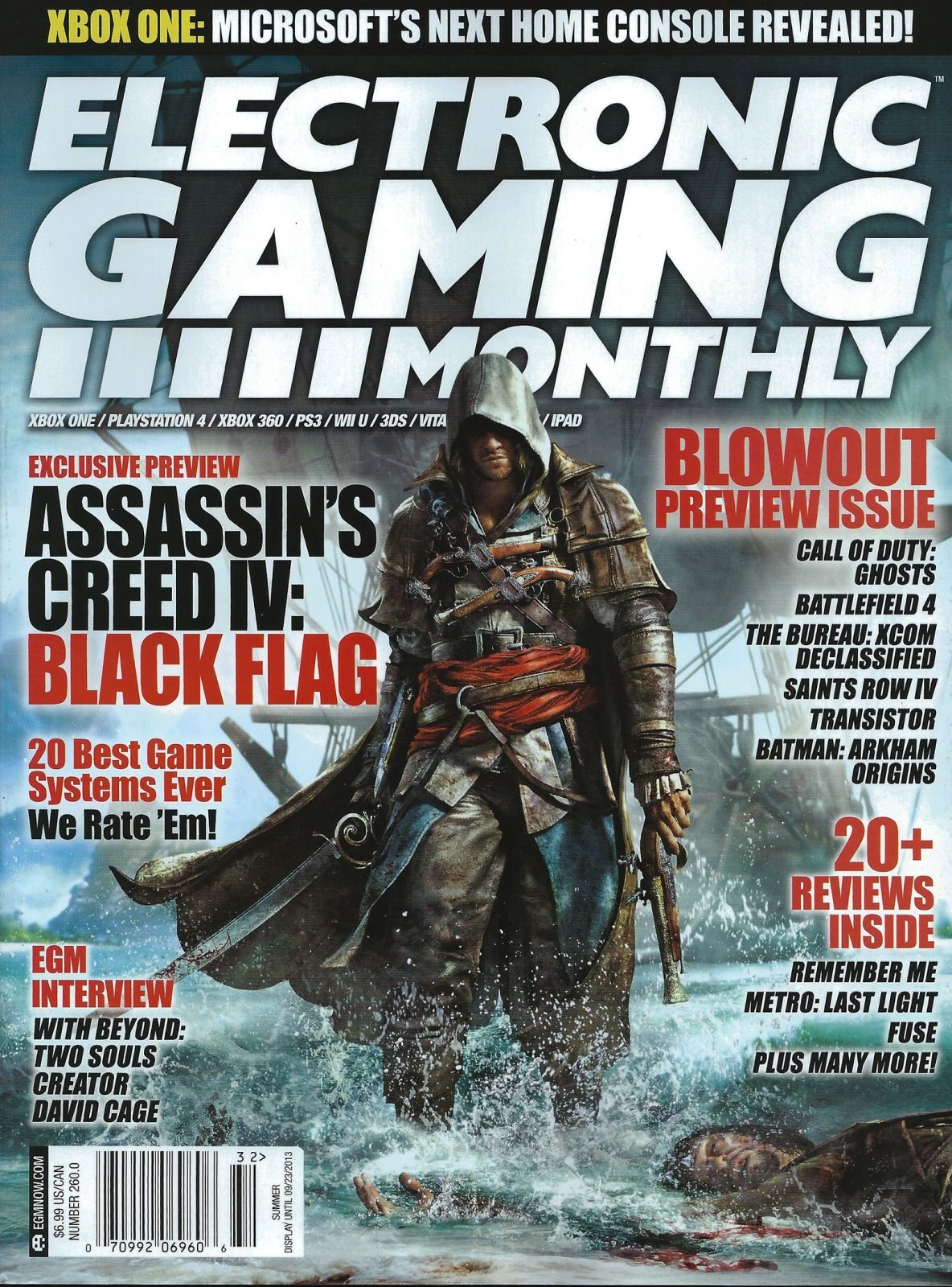 Electronic Gaming Monthly Issue 260 Summer 2013