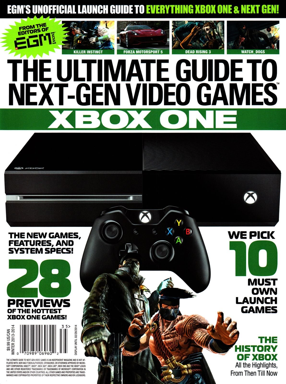 The Ultimate Guide To Next Gen Video Games - Xbox One