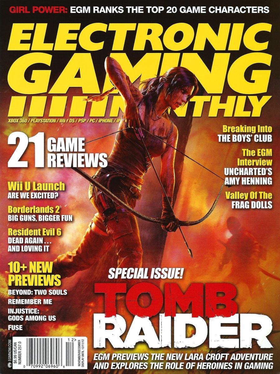 Electronic Gaming Monthly Issue 257 November December 2012 - Electronic Gaming Monthly