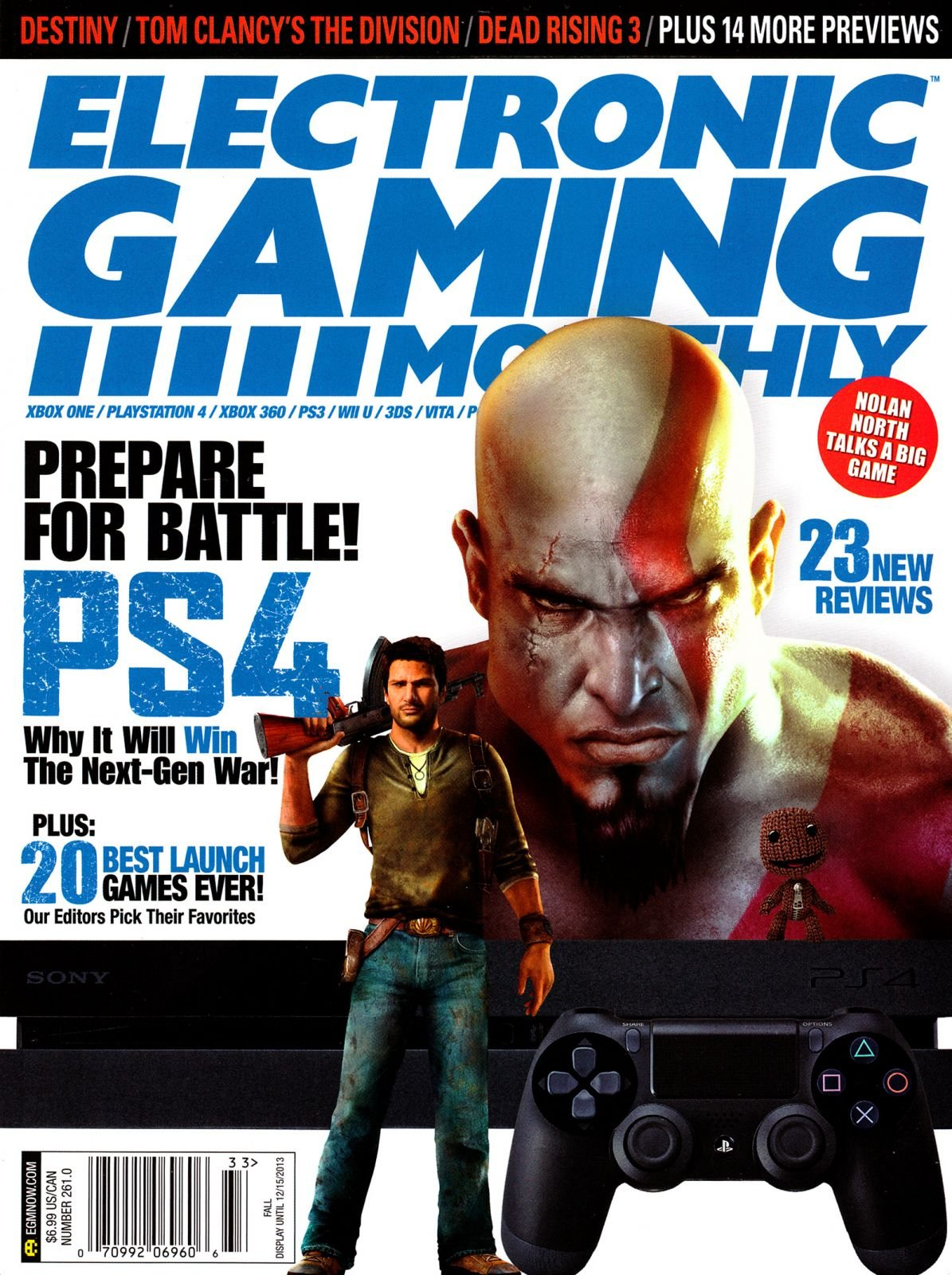 Electronic Gaming Monthly Issue 261 Fall 2013 (Cover 2 of 2)