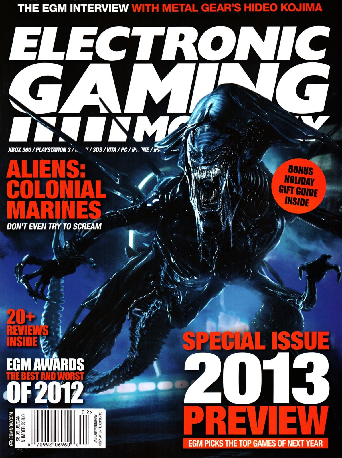 Electronic Gaming Monthly Issue 258 January-February 2013