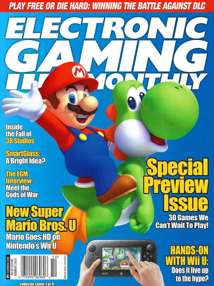 Electronic Gaming Monthly Issue 256 Cover 1 of 4