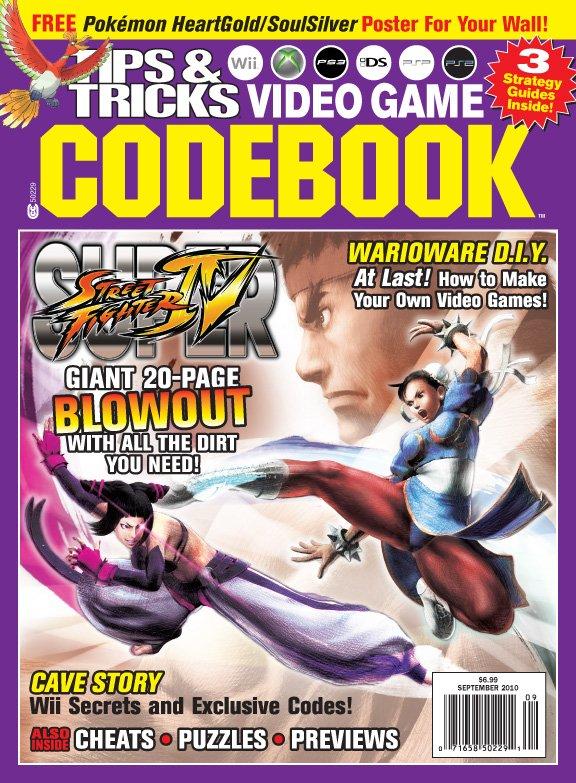 Tips & Tricks Video Game Codebook September 2010
