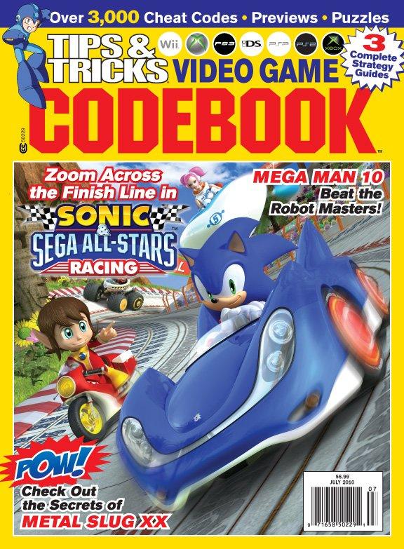 Tips & Tricks Video Game Codebook July 2010