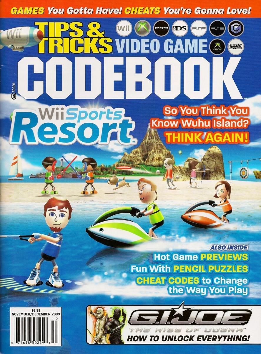 Tips & Tricks Video Game Codebook November-December 2009