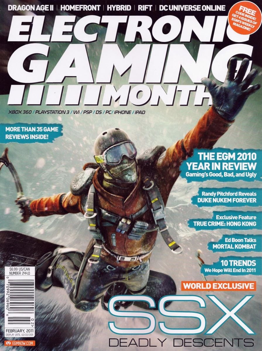 Electronic Gaming Monthly Issue 244 February 2011