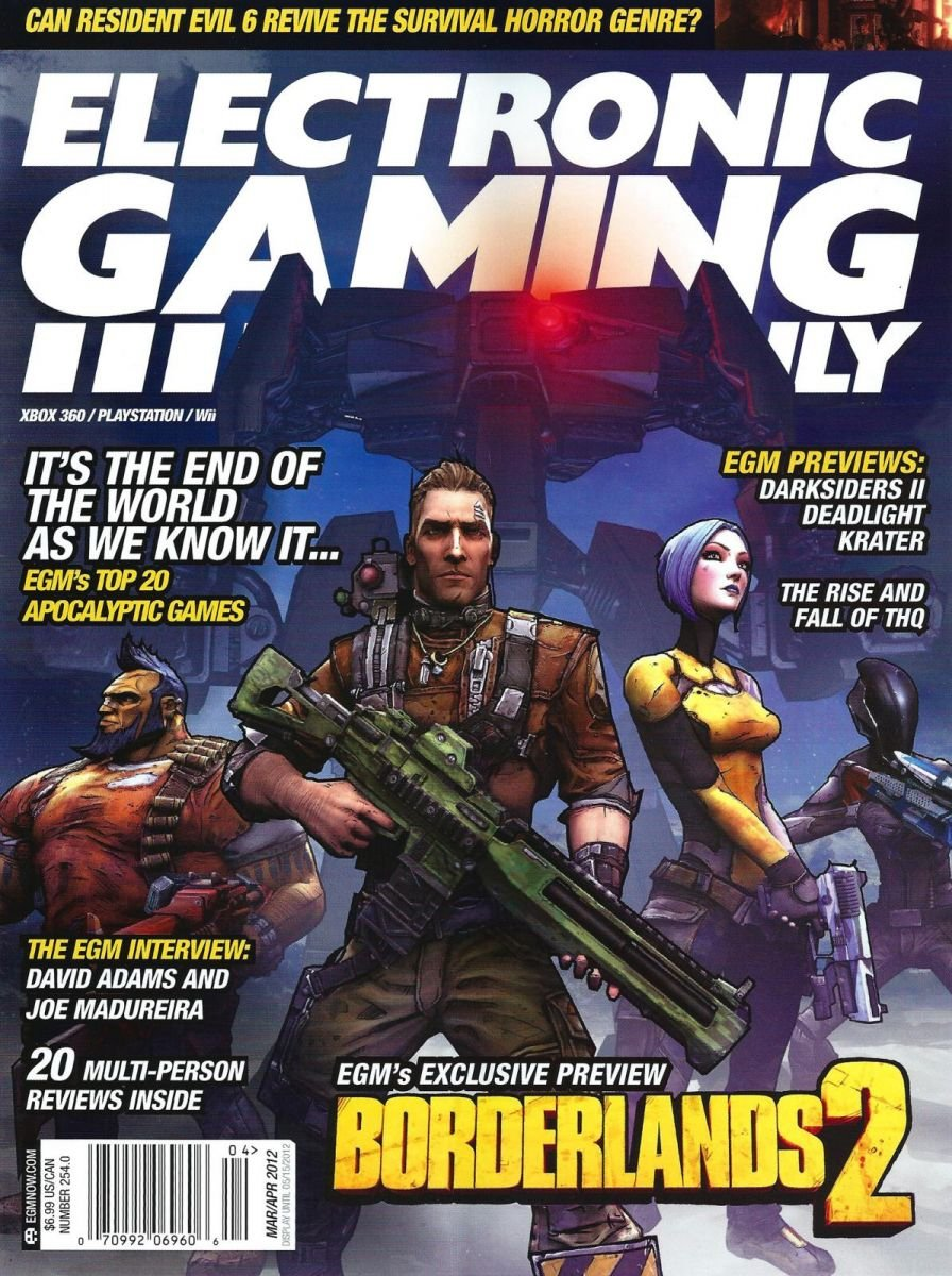 Electronic Gaming Monthly Issue 254 March-April 2012