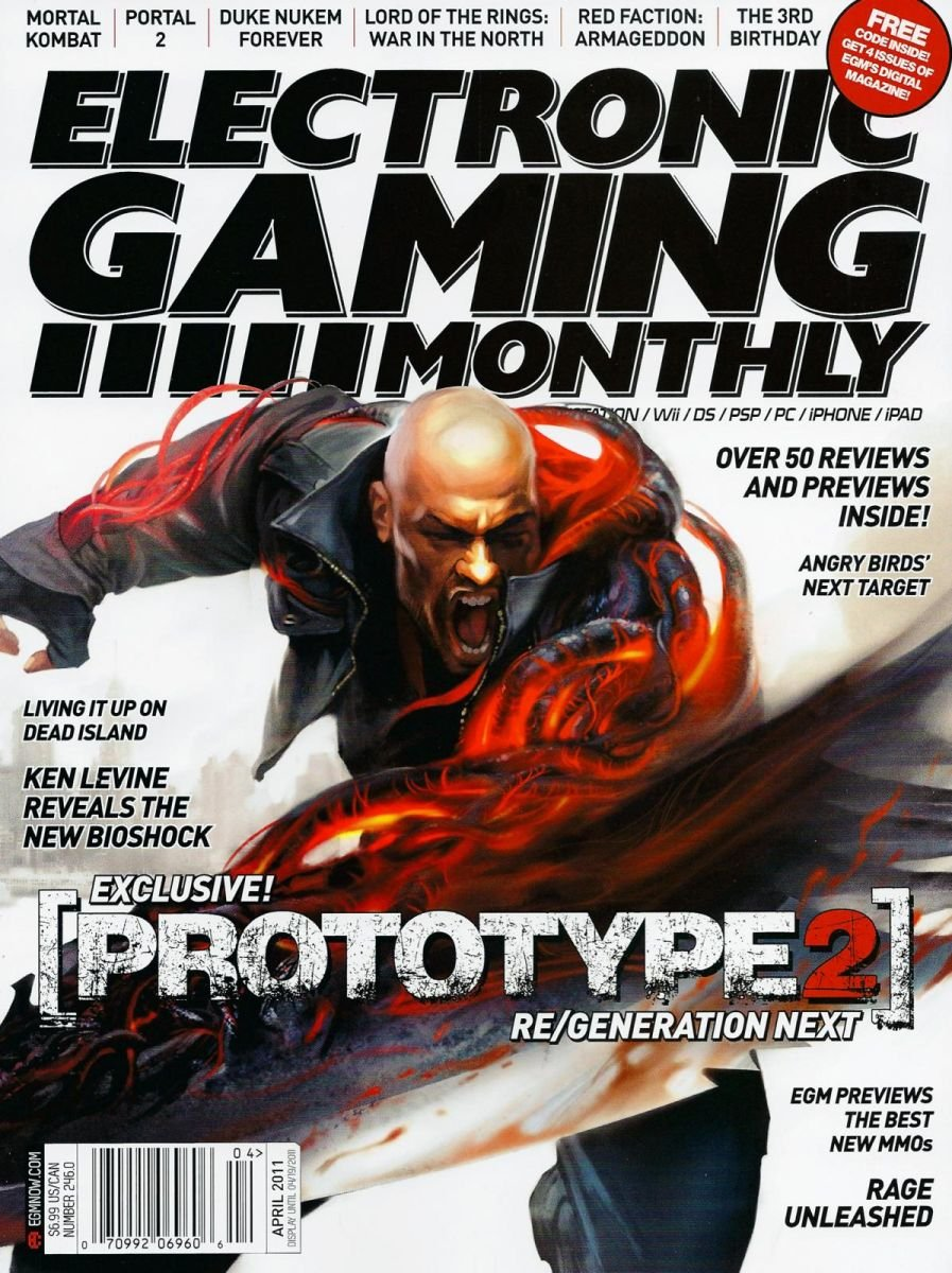 Electronic Gaming Monthly Issue 246 April 2011