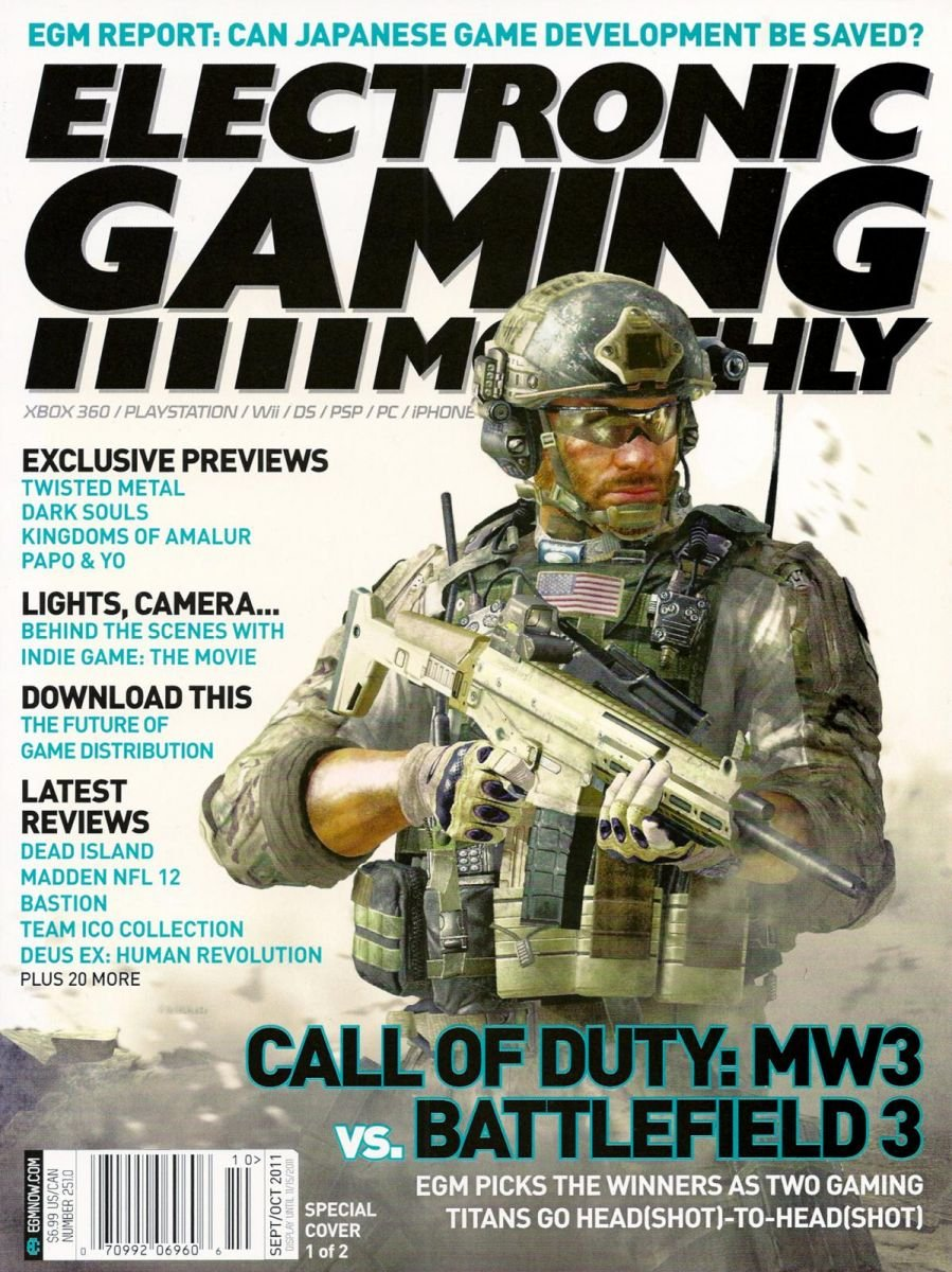 Electronic Gaming Monthly Issue 251 September-October 2001 Cover 1 of 2 - Electronic Gaming