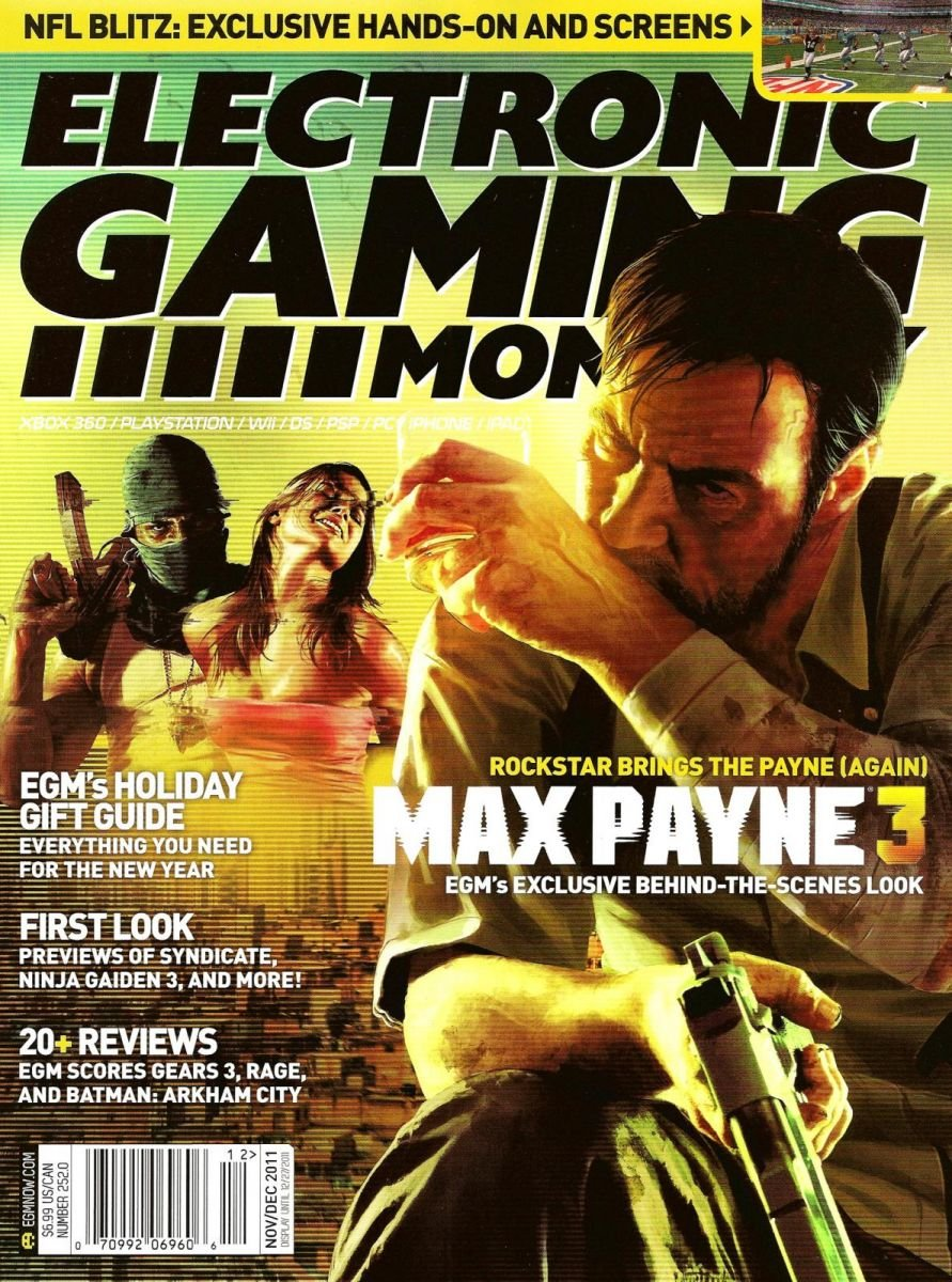 Electronic Gaming Monthly Issue 252 November-December 2011