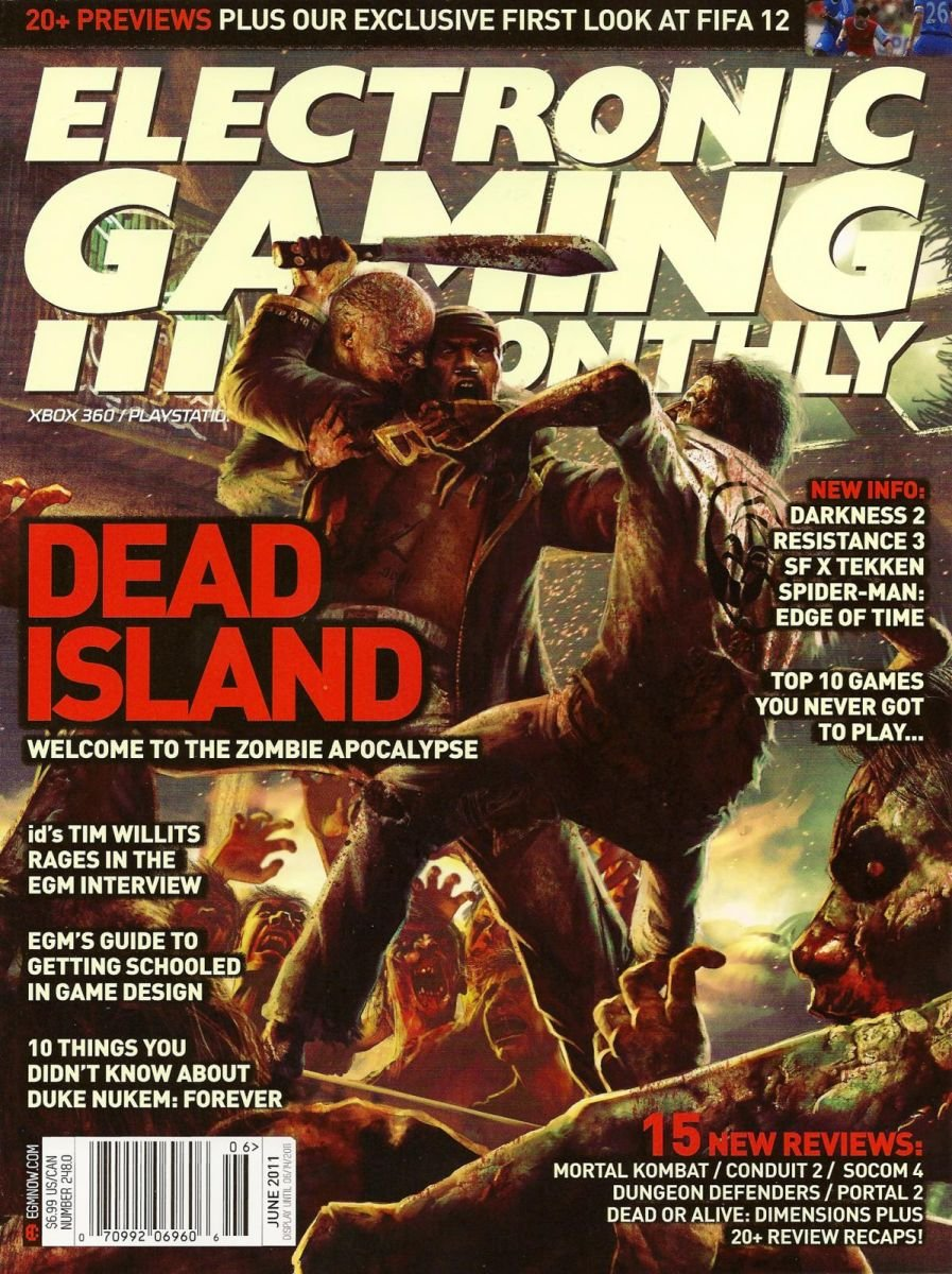 Electronic Gaming Monthly Issue 248 June 2011