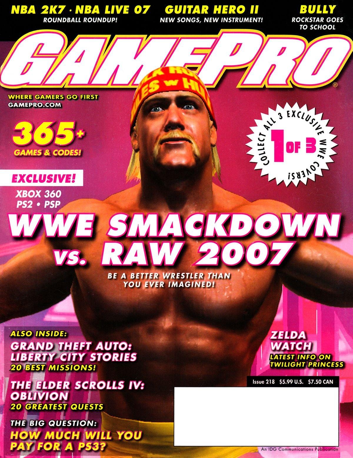 GamePro Issue 218 November 2006 (Cover 1 of 3)