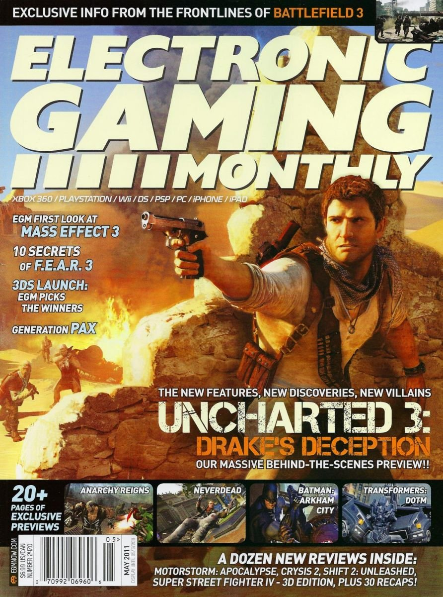 Electronic Gaming Monthly Issue 247 May 2011