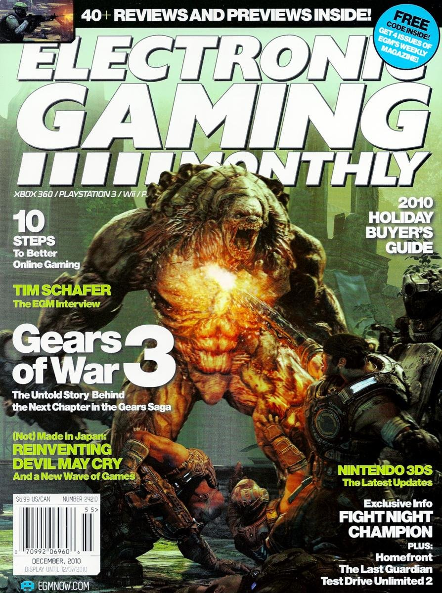 Electronic Gaming Monthly Issue 242 December 2010