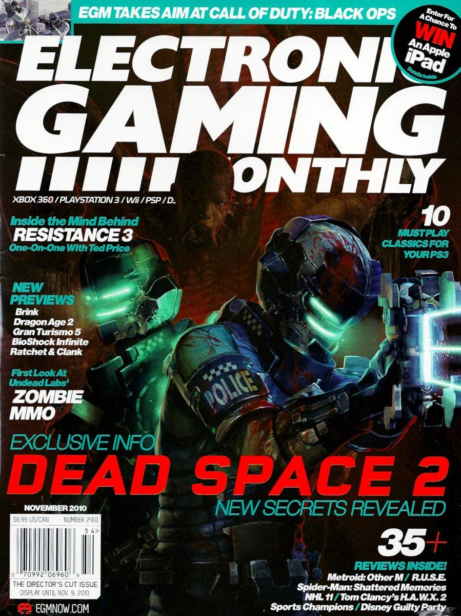Electronic Gaming Monthly Issue 241 November 2010