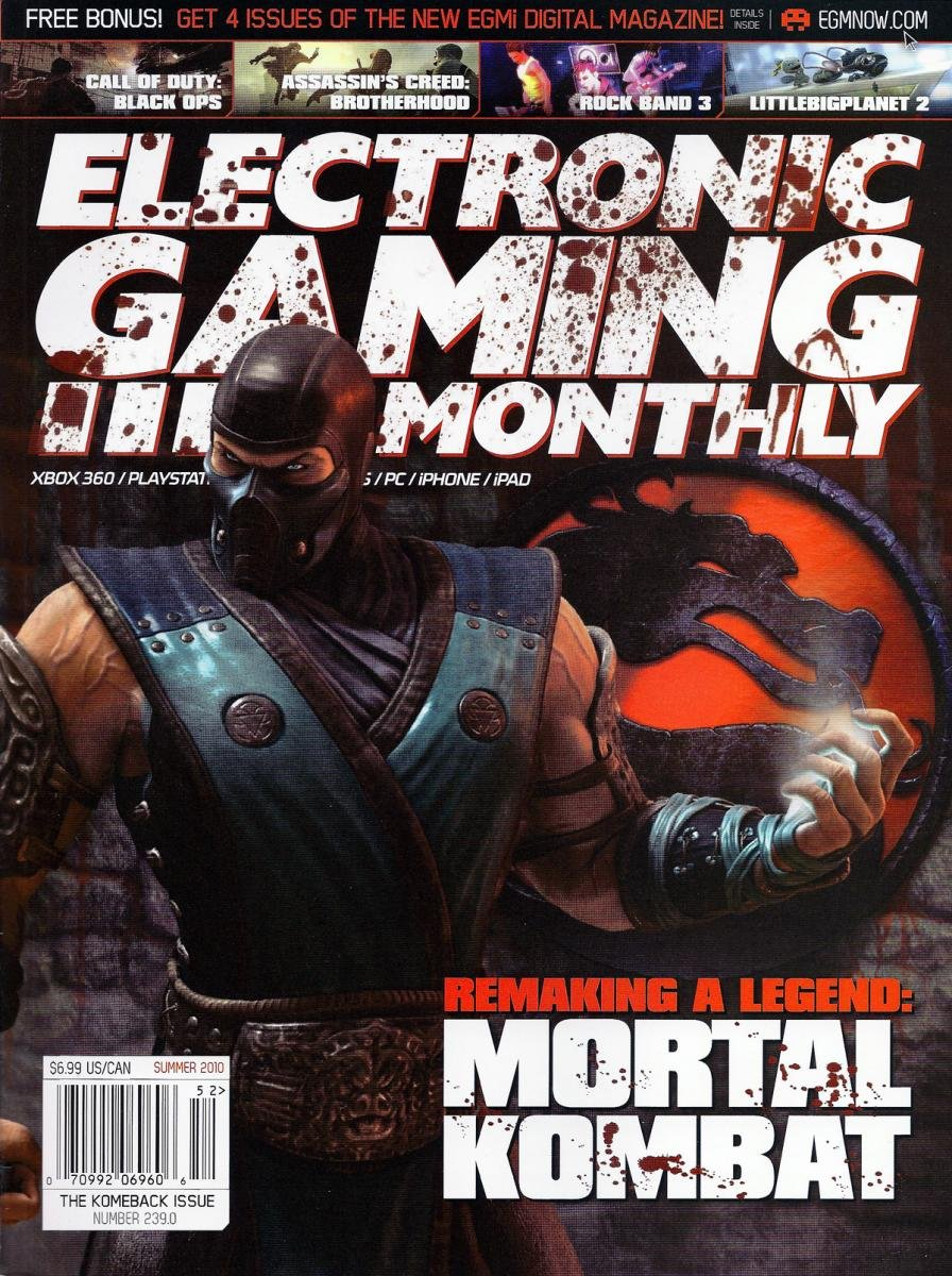 Electronic Gaming Monthly Issue 239 Summer 2010