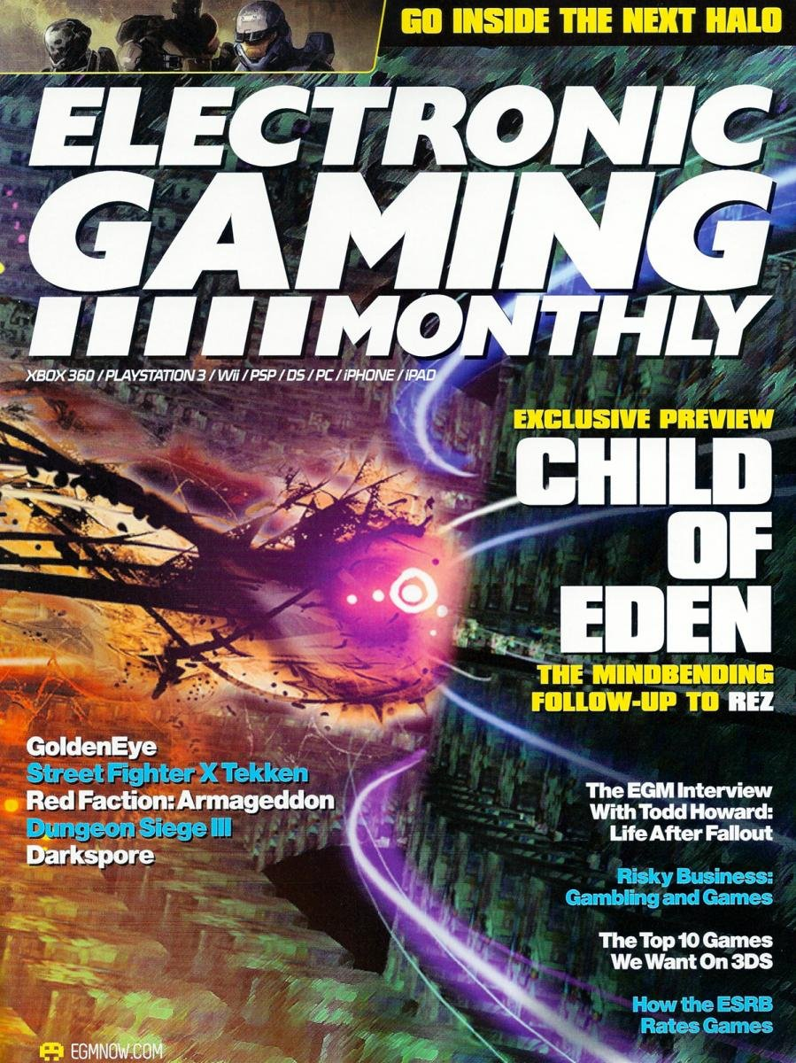 Electronic Gaming Monthly Issue 240 October 2010 Cover 1 of 2