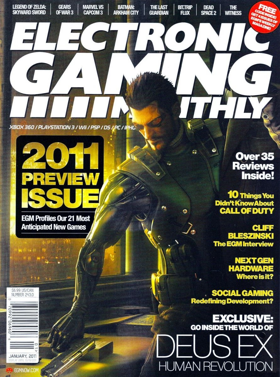 Electronic Gaming Monthly Issue 243 January 2011
