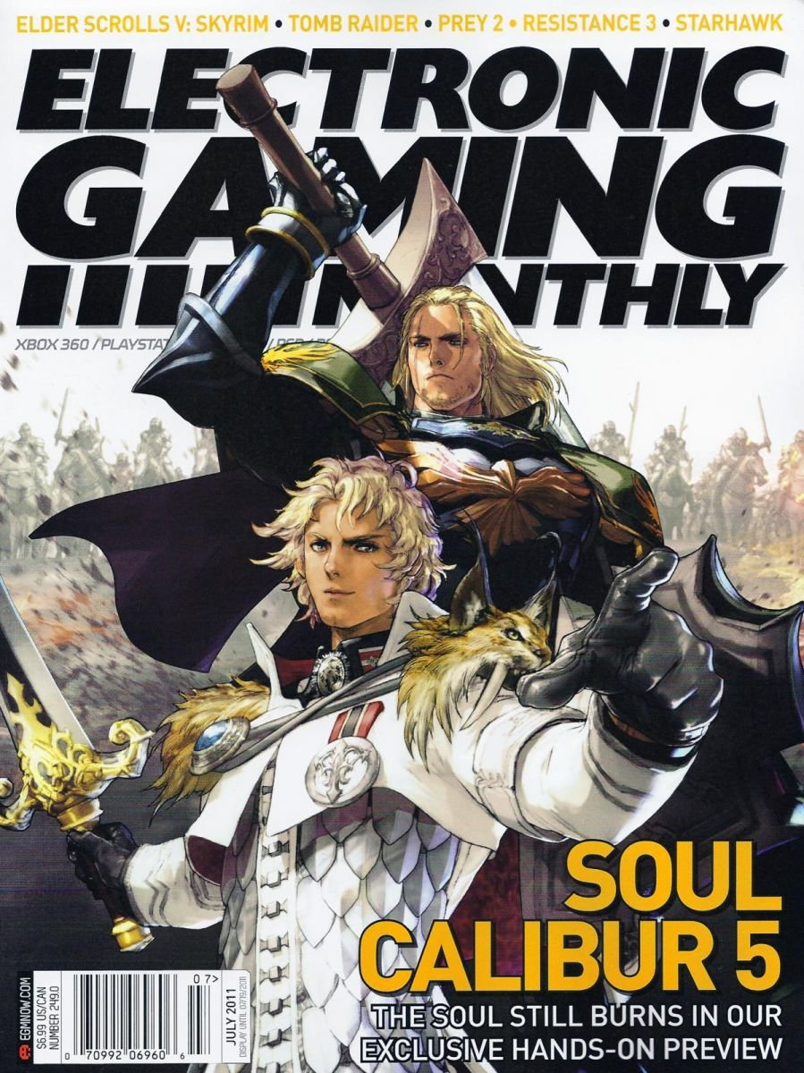 Electronic Gaming Monthly Issue 249 July 2011