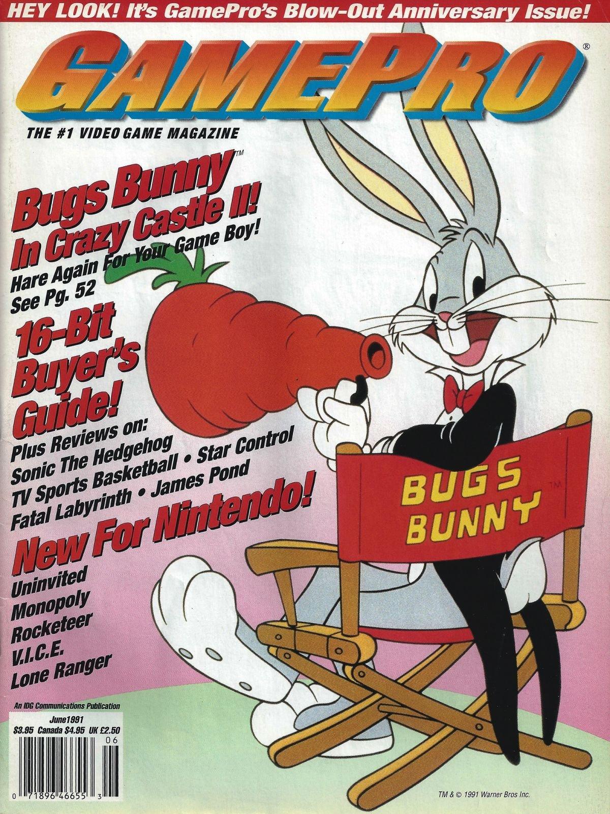 GamePro Issue 023 June 1991 Alternate Cover