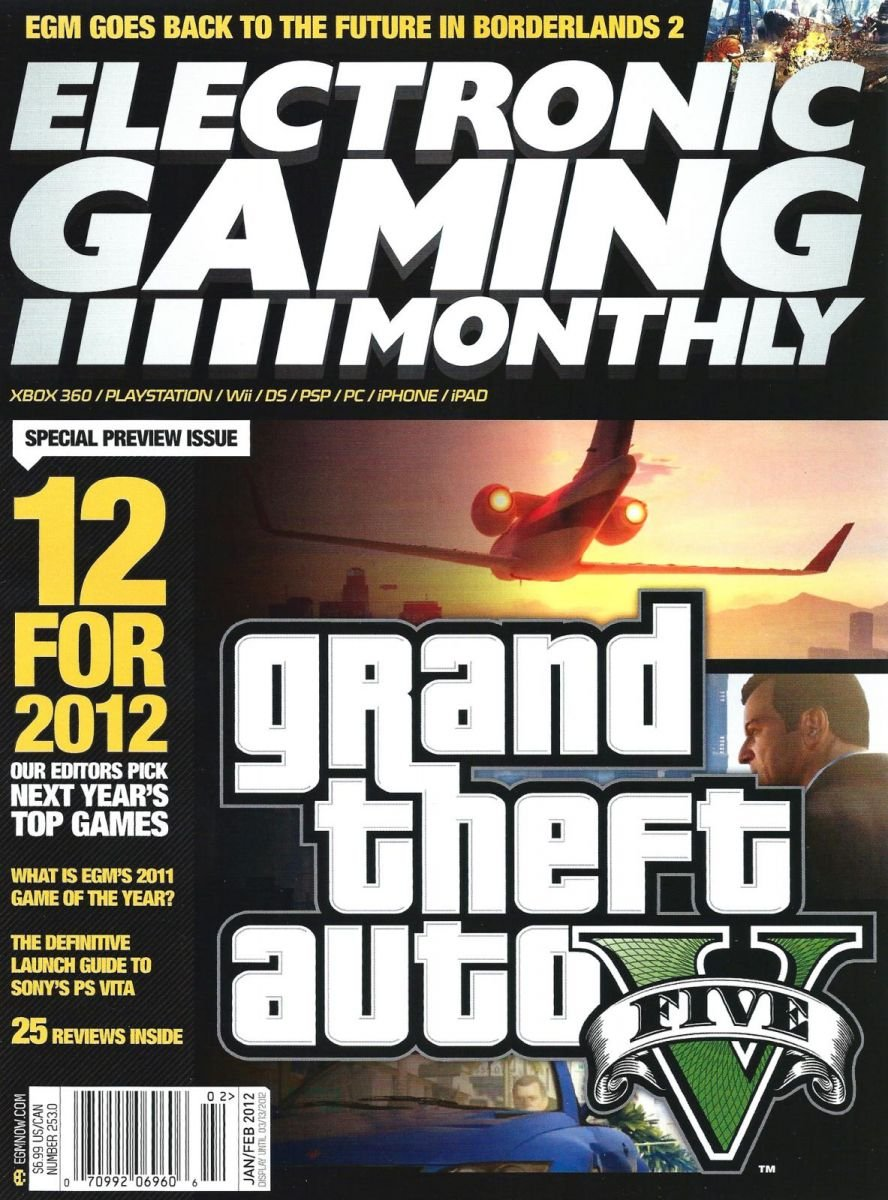 Electronic Gaming Monthly Issue 253 January-February 2012