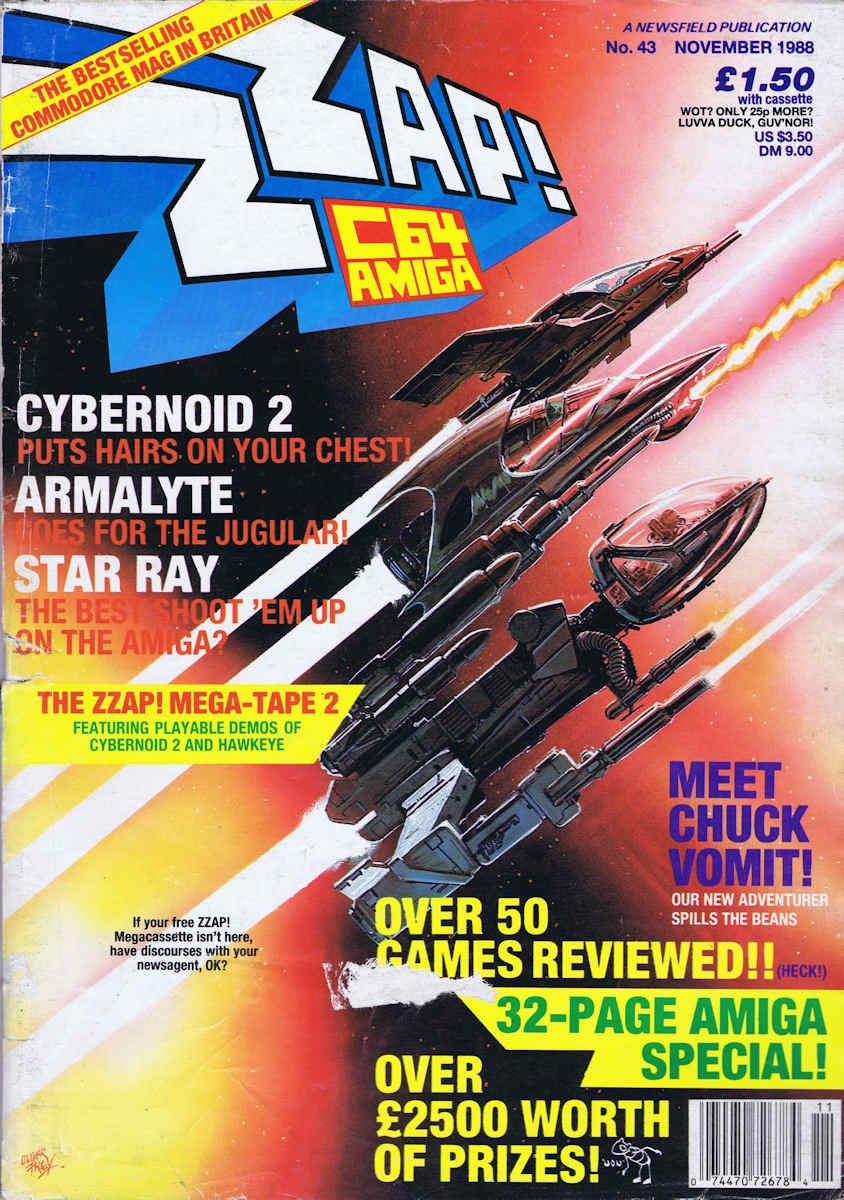 Zzap64 Issue 043