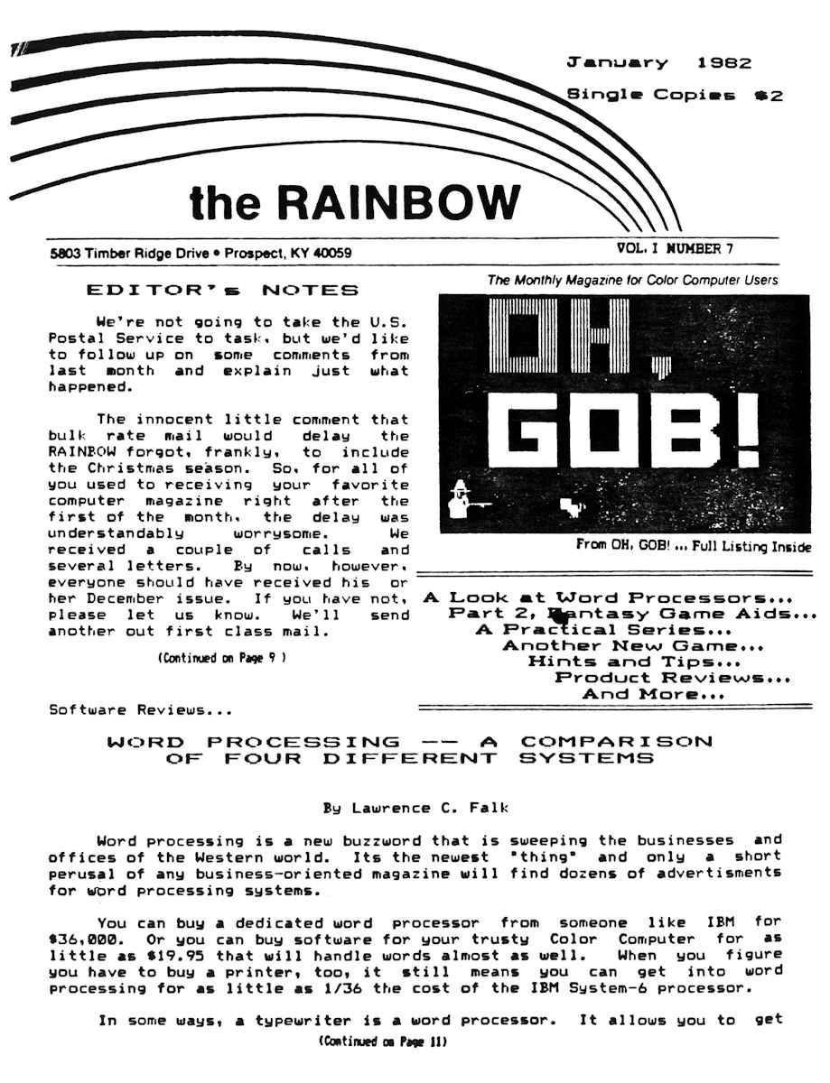 Rainbow [ 1982 01 ]