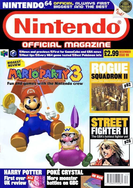 Nintendo Magazine Issue 111