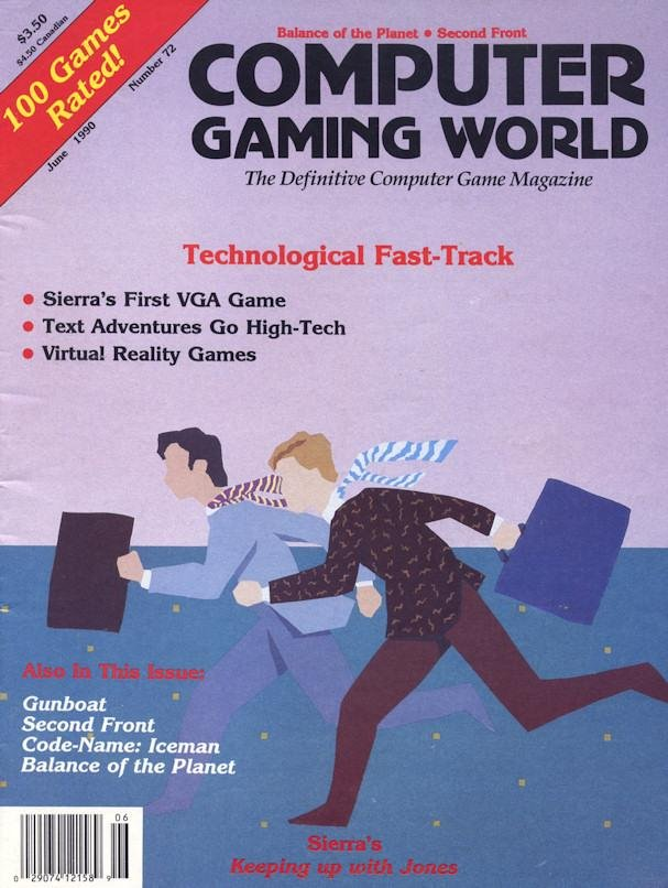 Computer Gaming World Issue 072 June 1990