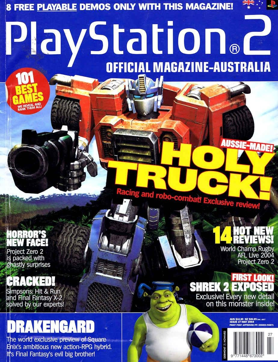 Playstation 2 (AUS) Issue 27
