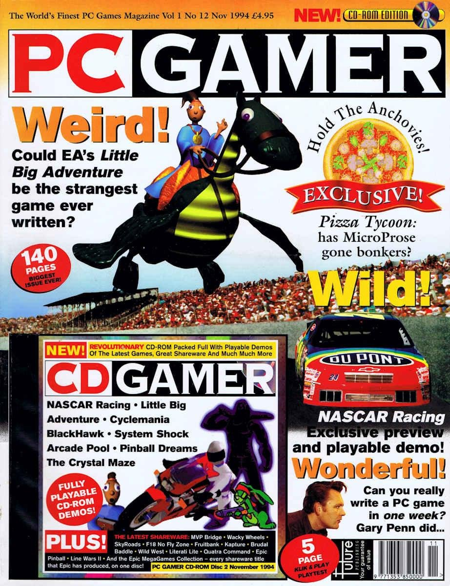 PC Gamer UK Issue 012
