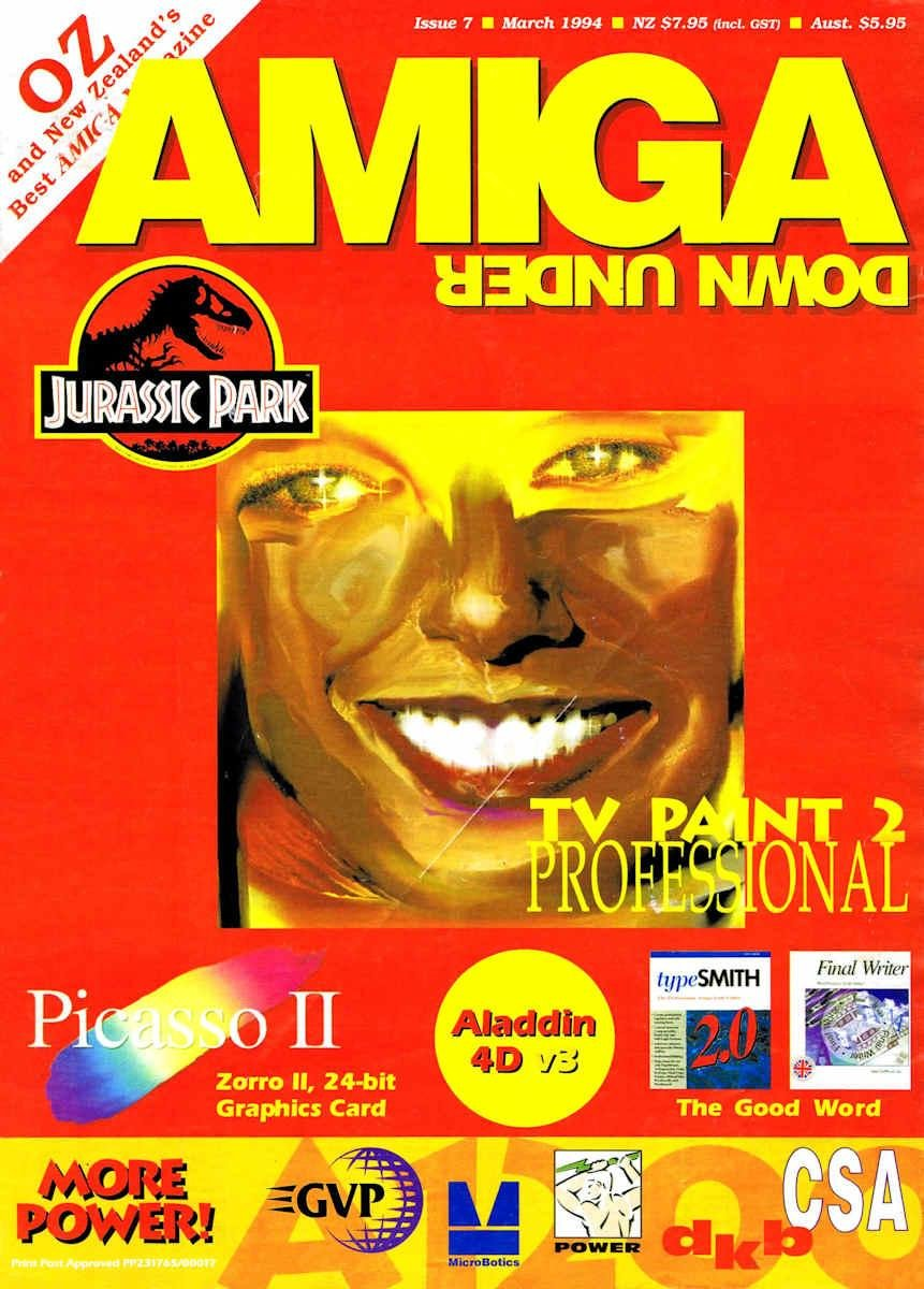 Amiga Down Under Issue 07