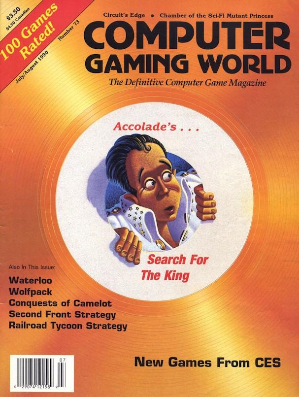 Computer Gaming World Issue 073 July 1990