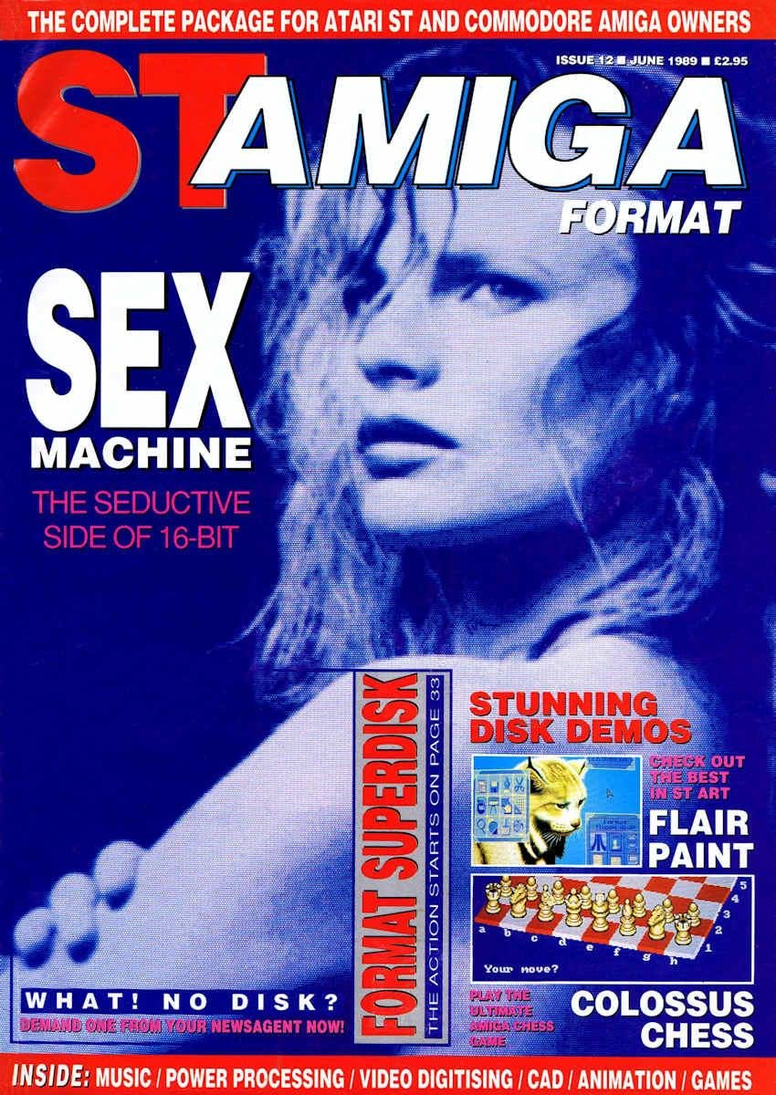 ST-Amiga Format Issue 12 June 1989