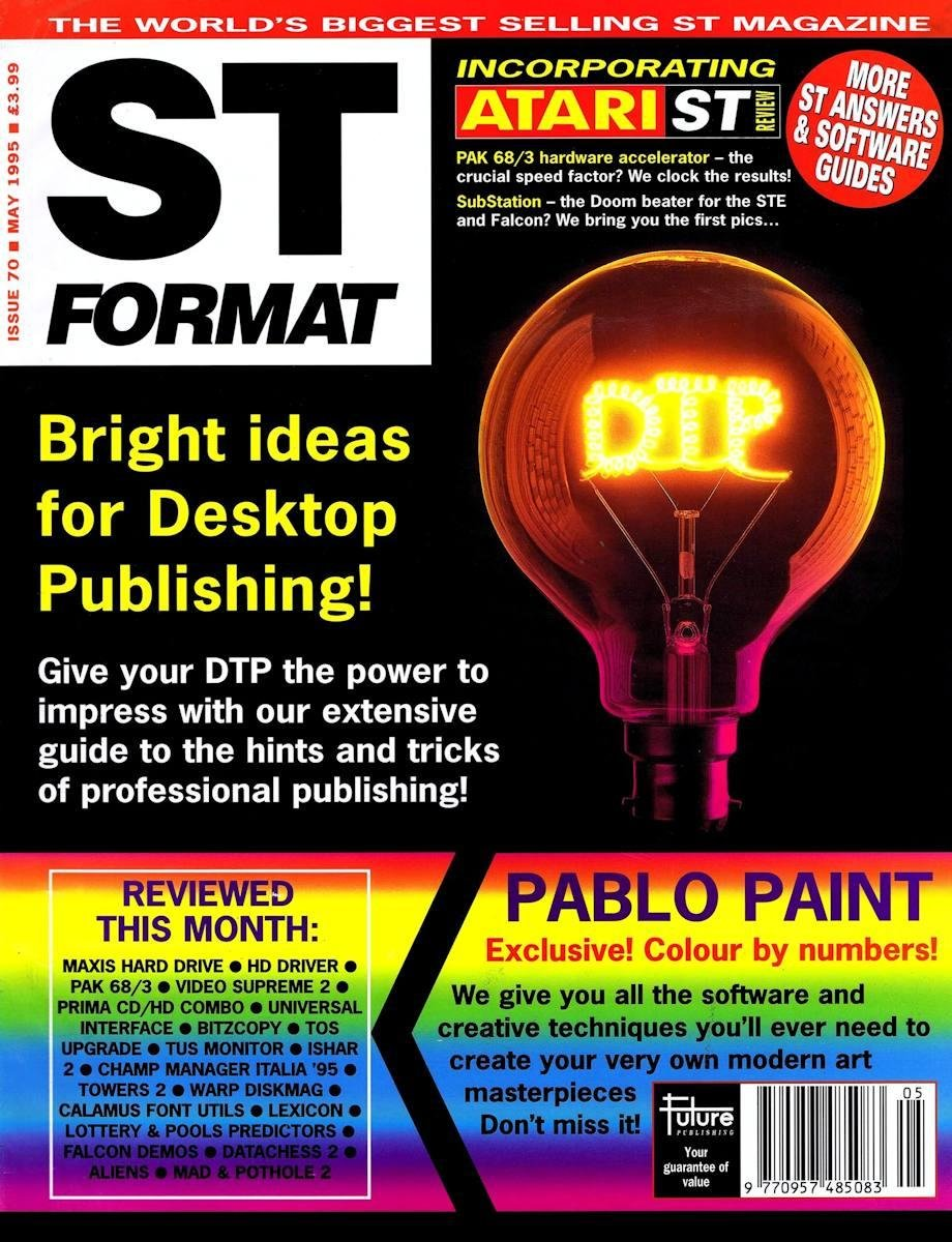 ST Format Issue 070 May 1995