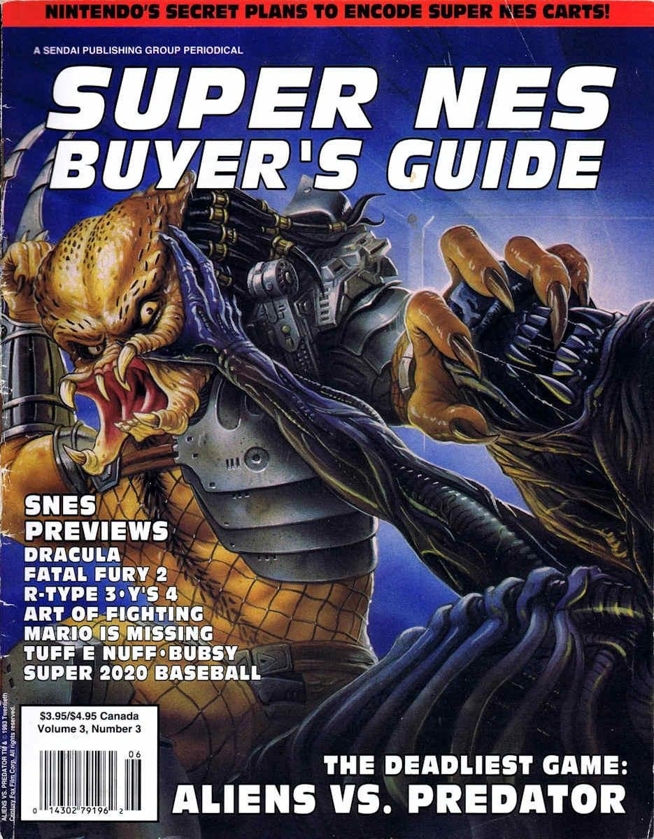 Super Nes Buyers Guide Vol. 03 Issue 03